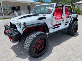 2021 Jeep Wrangler DIESEL LIFTED LEATHER 37s DV8 OCD FUEL QUAKE  Plant City Florida  Bayshore Automotive   in Plant City, Florida