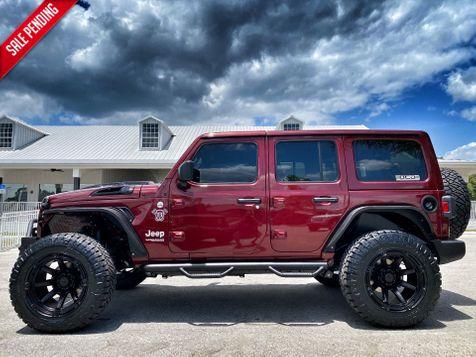 2021 Jeep Wrangler SNAZ ISLANDER CUSTOM LIFTED LEATHER OCD4X4.COM in Plant City, Florida