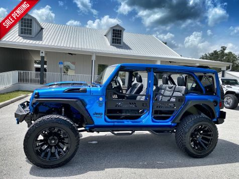 2021 Jeep Wrangler 1 TOUCH SKYTOP LEATHER NAV FUEL OCD DV8  in Plant City, Florida
