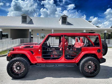 2021 Jeep Wrangler SKY TOP CUSTOM LIFTED LEATHER NAV ALPINE  in Plant City, Florida