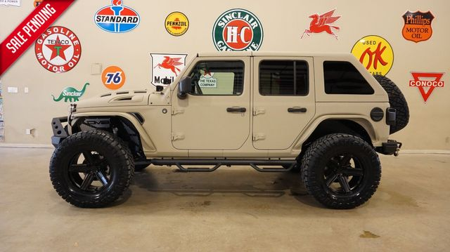 2021 Jeep Wrangler Unlimited Rubicon 4X4 DUPONT KEVLAR,SLANT TOP,LIFT,LED'S