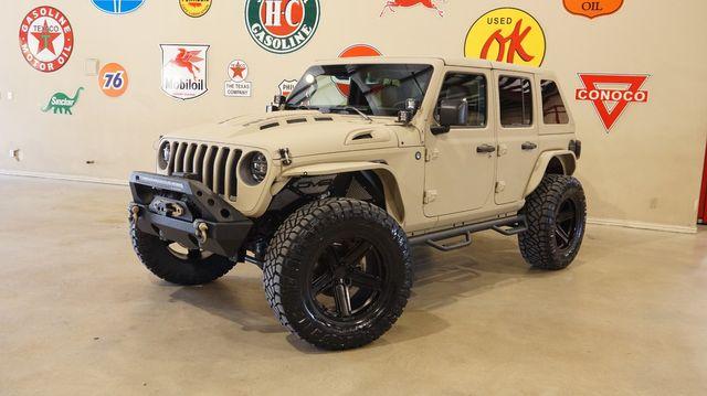 2021 Jeep Wrangler Unlimited Rubicon 4X4 DUPONT KEVLAR,SLANT TOP,LIFT,LED'S