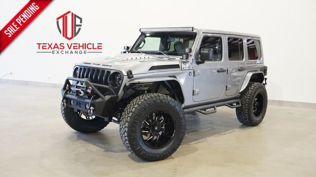 2021 Jeep Wrangler Unlimited Sport 4X4 LIFTED,BUMPERS,LED'S,FUEL WHLS