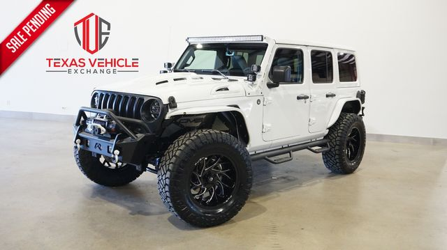 2021 Jeep Wrangler Unlimited Sport 4X4 LIFTED,BUMPERS,NAV,LED'S,FUEL WHLS