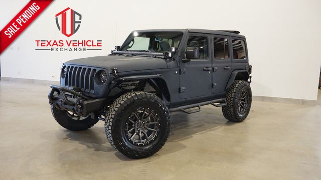 2021 Jeep Wrangler Unlimited Sport 4X4 SKY TOP,DUPONT KEVLAR,LIFTED,NAV in Carrollton, TX 75006