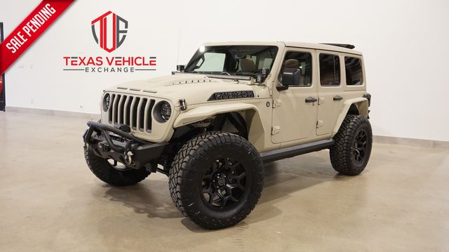2021 Jeep Wrangler Unlimited Rubicon 4X4 DIESEL,SKY TOP,DUPONT KEVLAR,LIFT in Carrollton, TX 75006