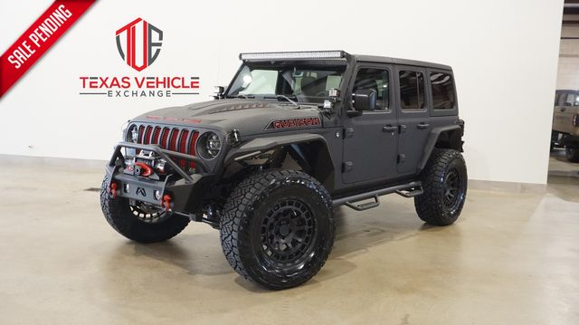 2021 Jeep Wrangler Unlimited Rubicon 4X4 DUPONT KEVLAR,LIFTED,LED'S