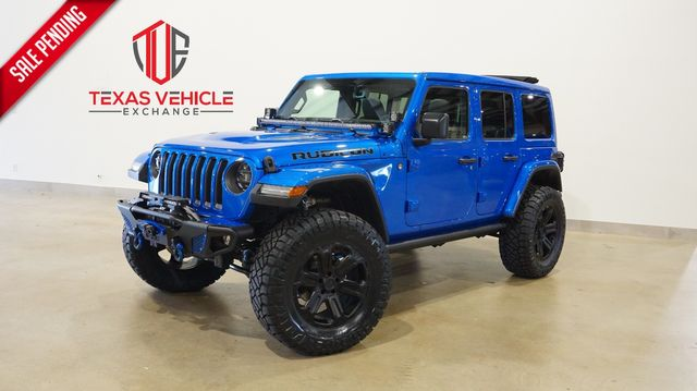 2021 Jeep Wrangler Unlimted Rubicon 4X4 SKY TOP,LIFTED,BUMPERS,LED'S