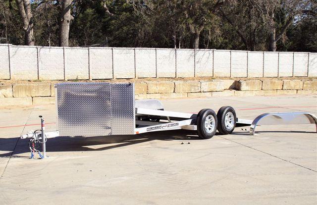 2021 Jimglo BASE 18' ALL ALUMINUM TILTING CAR HAULER $10695 in Keller, TX 76111