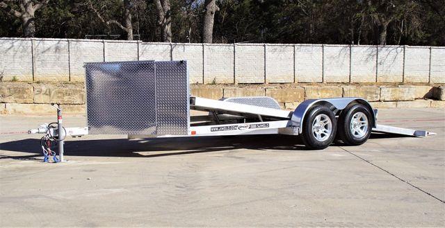 2021 Jimglo EGO 18'Aluminum Tilt Car Hauler