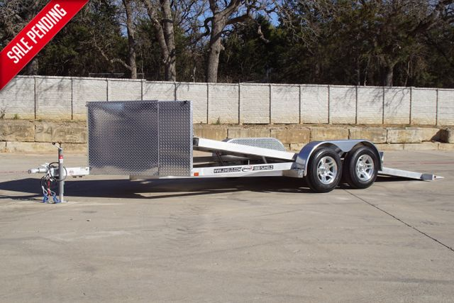 2021 Jimglo EGO 18' ALL ALUMINUM TILTING CAR HAULER