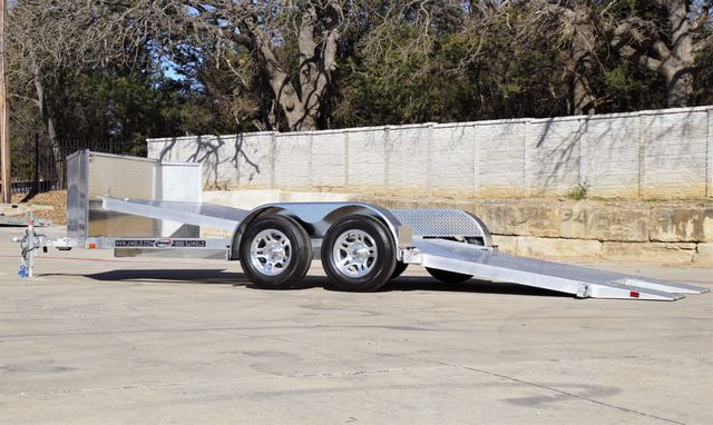2021 Jimglo EGO 18' All Aluminum Tilting Car Hauler