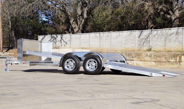 2021 Jimglo EGO Base 18' All Aluminum Tilting Car Hauler