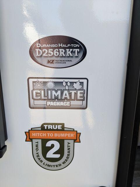 2021 Kz DURANGO D256RKT in Mandan, North Dakota 58554