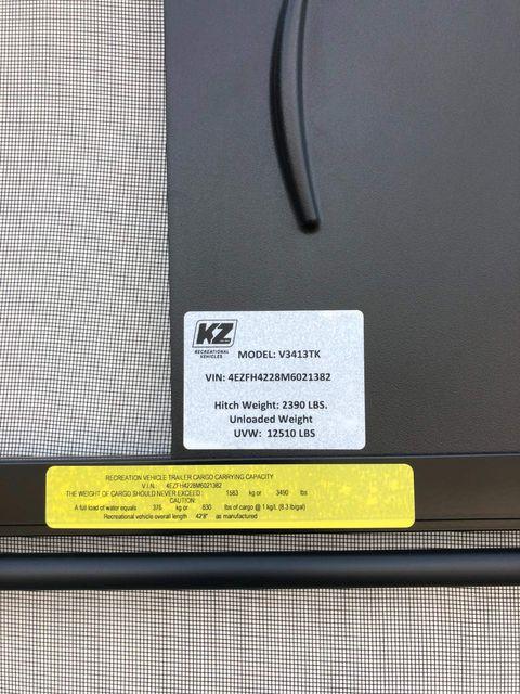 2021 Kz Venom V3413TK in Mandan, North Dakota 58554