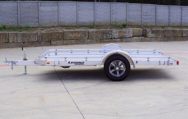 2021 Legend 7' X 12' All Aluminum Tilt Trailer With Torison Axles and Hydraulic Dampener $3795 in Keller, TX 76111