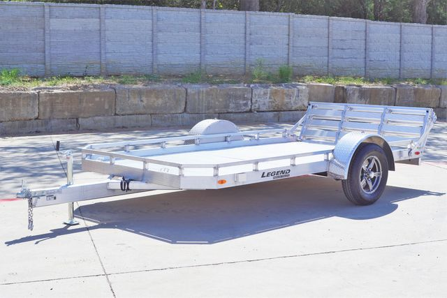 2021 Legend 7' X 12' ALUMINUM UTILTY TRAILER WITH HD BODY AND TORISON AXLES in Keller, TX 76111