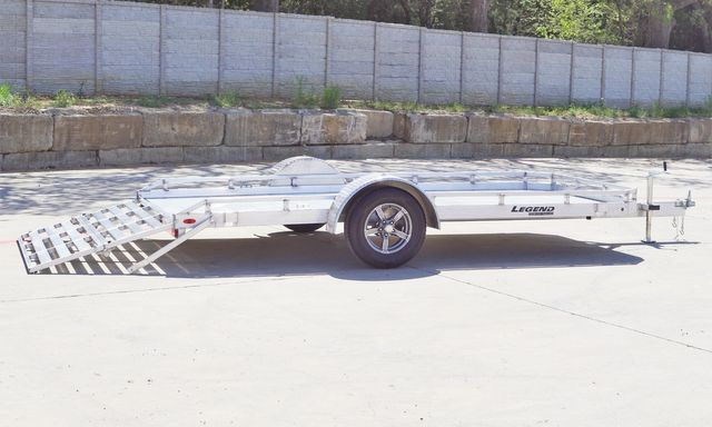 2021 Legend 7' X 14' ALUMINUM UTILTY TRAILER WITH HD BODY AND TORISON AXLES in Keller, TX 76111