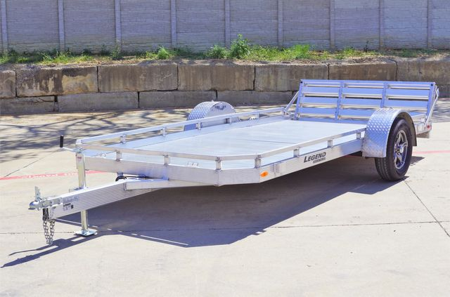2021 Legend 7' X 14' ALUMINUM UTILTY TRAILER WITH HD BODY AND TORISON AXLES in Keller, TX 76111