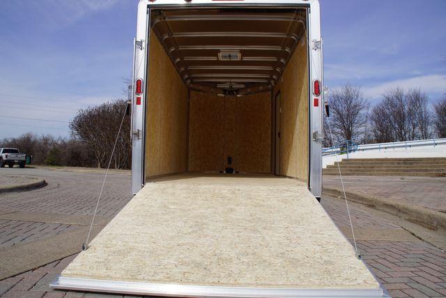 2021 Legend 7' x 17' Deluxe V-Nose All Aluminum Cargo Cargo UTV Trailer in Keller, TX 76111