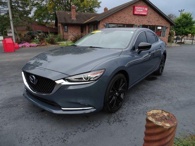 2021 Mazda Mazda6 Carbon Edition in Valparaiso, Indiana 46385