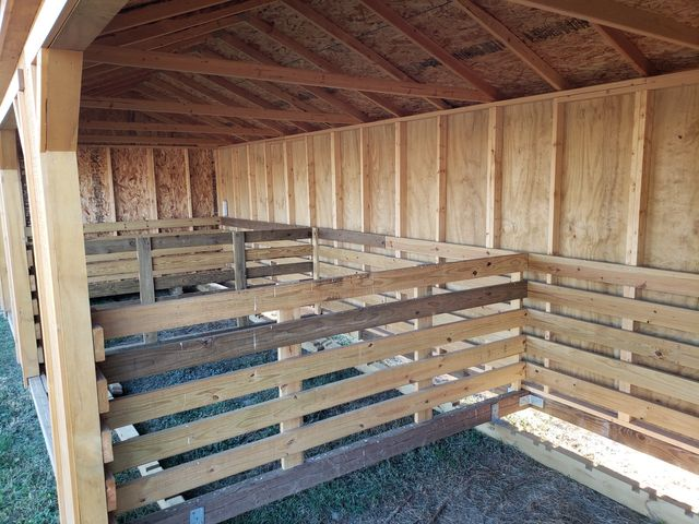 2021 Old Hickory Sheds 12x40 Animal Shelter with Tack Room in Dickinson, ND 58601