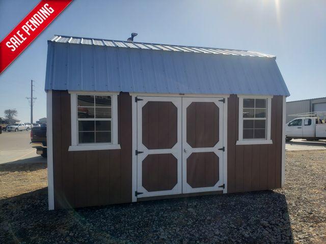 2021 Old Hickory Sheds 10x16 Lofted Barn Side door