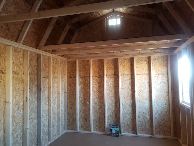2021 Old Hickory Sheds 10x20 Lofted Barn Side door in Dickinson, ND 58601