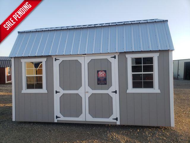 2021 Old Hickory Sheds 10x20 Lofted Barn Side door