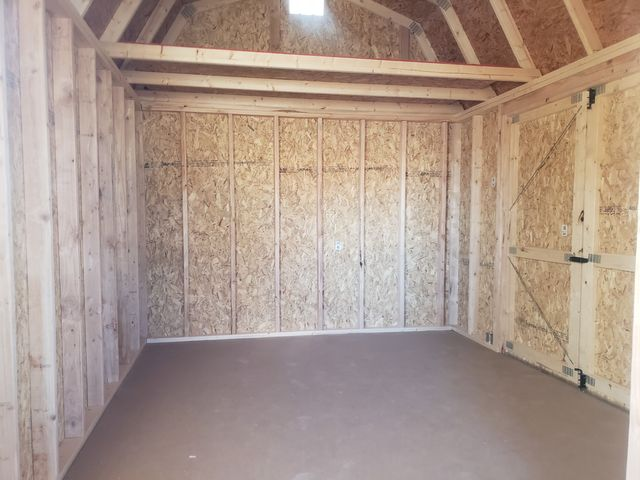 2021 Old Hickory Sheds 10x20 Lofted Barn, Side Porch in Dickinson, ND 58601