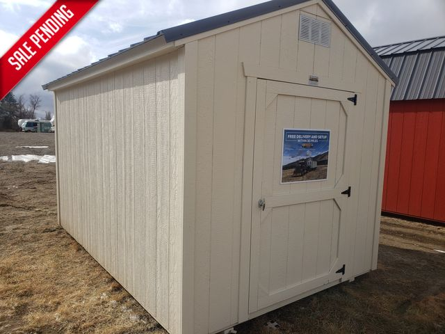 2021 Old Hickory Sheds 8x12 Utility 7ft Side Wall