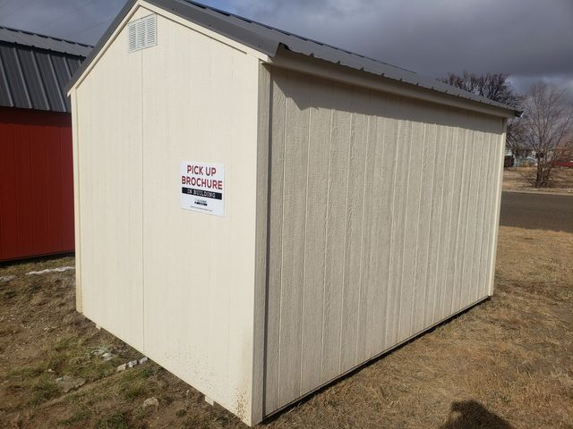 2021 Old Hickory Sheds 8x12 Utility 7ft Side Wall in Dickinson, ND 58601