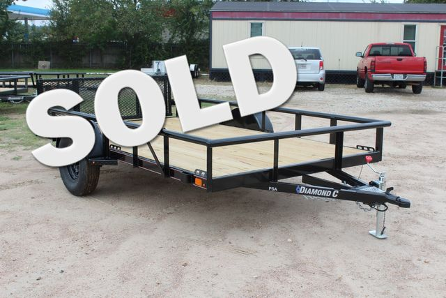 "2021 Psa - 12 12'X83"" - SINGLE AXLE  UTILITY UTILITY TRAILER WITH BIFOLD GATE CONROE, TX"