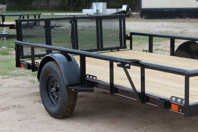 "2021 Psa - 12 12'X83"" - SINGLE AXLE  UTILITY UTILITY TRAILER WITH BIFOLD GATE CONROE, TX 1"