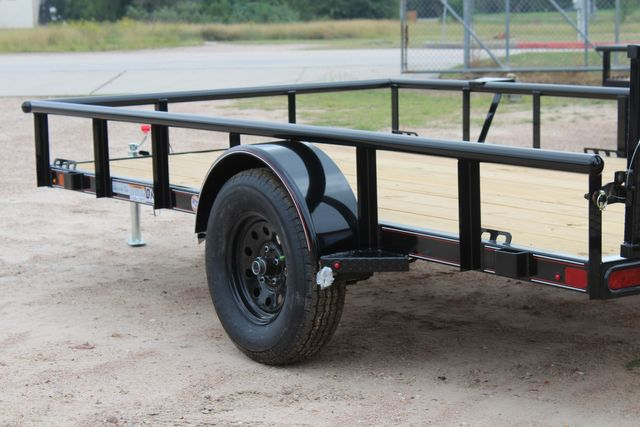 "2021 Psa - 12 12'X83"" - SINGLE AXLE  UTILITY UTILITY TRAILER WITH BIFOLD GATE CONROE, TX 10"