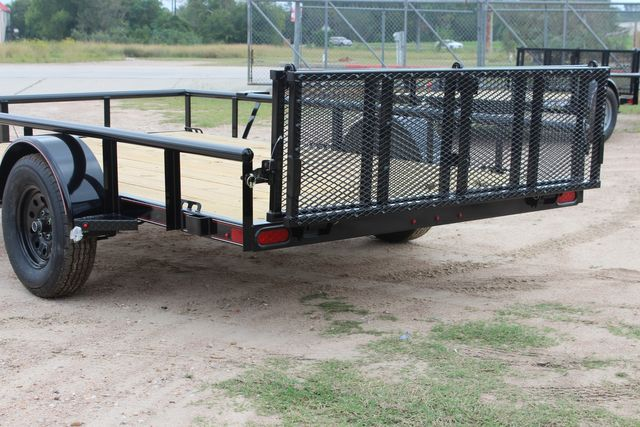 "2021 Psa - 12 12'X83"" - SINGLE AXLE  UTILITY UTILITY TRAILER WITH BIFOLD GATE CONROE, TX 11"