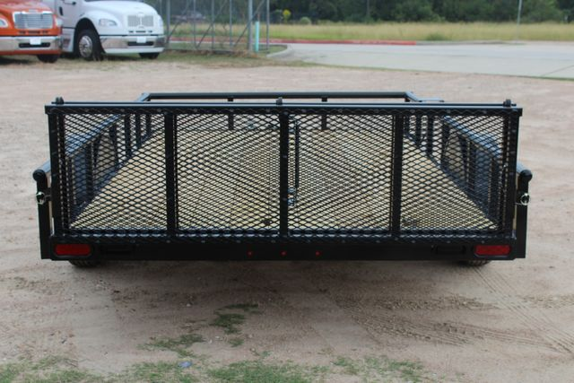 "2021 Psa - 12 12'X83"" - SINGLE AXLE  UTILITY UTILITY TRAILER WITH BIFOLD GATE CONROE, TX 12"