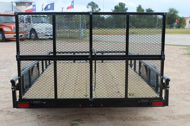 "2021 Psa - 12 12'X83"" - SINGLE AXLE  UTILITY UTILITY TRAILER WITH BIFOLD GATE CONROE, TX 13"