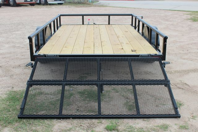 "2021 Psa - 12 12'X83"" - SINGLE AXLE  UTILITY UTILITY TRAILER WITH BIFOLD GATE CONROE, TX 14"
