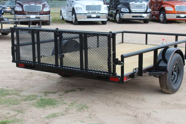 "2021 Psa - 12 12'X83"" - SINGLE AXLE  UTILITY UTILITY TRAILER WITH BIFOLD GATE CONROE, TX 17"
