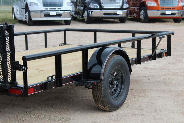 "2021 Psa - 12 12'X83"" - SINGLE AXLE  UTILITY UTILITY TRAILER WITH BIFOLD GATE CONROE, TX 18"