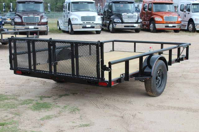 "2021 Psa - 12 12'X83"" - SINGLE AXLE  UTILITY UTILITY TRAILER WITH BIFOLD GATE CONROE, TX 19"