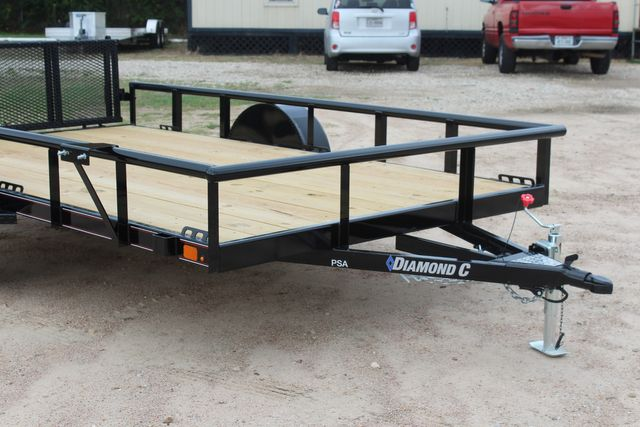 "2021 Psa - 12 12'X83"" - SINGLE AXLE  UTILITY UTILITY TRAILER WITH BIFOLD GATE CONROE, TX 2"