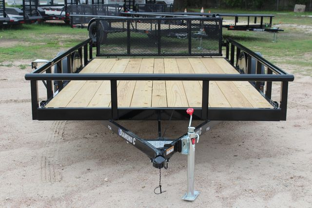 "2021 Psa - 12 12'X83"" - SINGLE AXLE  UTILITY UTILITY TRAILER WITH BIFOLD GATE CONROE, TX 3"