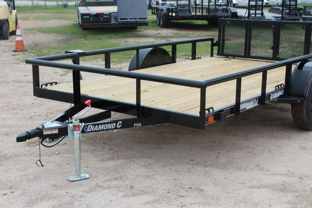 "2021 Psa - 12 12'X83"" - SINGLE AXLE  UTILITY UTILITY TRAILER WITH BIFOLD GATE CONROE, TX 4"