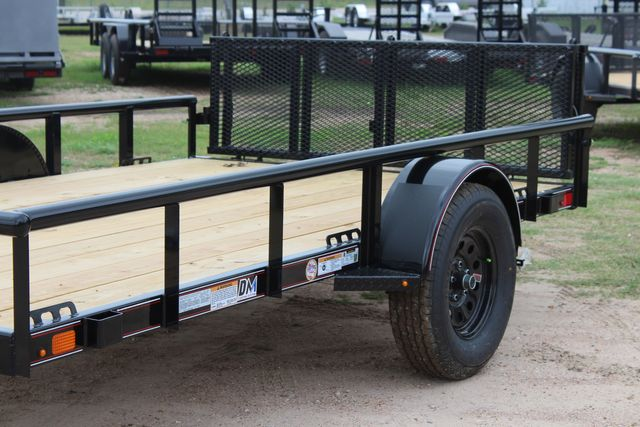 "2021 Psa - 12 12'X83"" - SINGLE AXLE  UTILITY UTILITY TRAILER WITH BIFOLD GATE CONROE, TX 5"