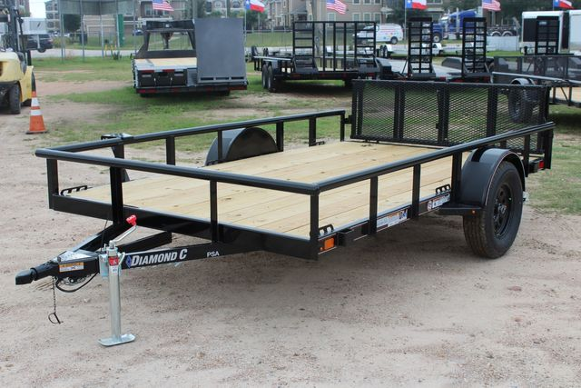 "2021 Psa - 12 12'X83"" - SINGLE AXLE  UTILITY UTILITY TRAILER WITH BIFOLD GATE CONROE, TX 6"