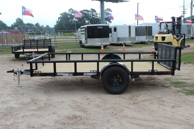 "2021 Psa - 12 12'X83"" - SINGLE AXLE  UTILITY UTILITY TRAILER WITH BIFOLD GATE CONROE, TX 7"