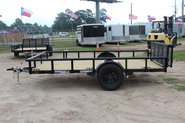 "2021 Psa - 12 12'X83"" - SINGLE AXLE  UTILITY UTILITY TRAILER WITH BIFOLD GATE CONROE, TX 8"
