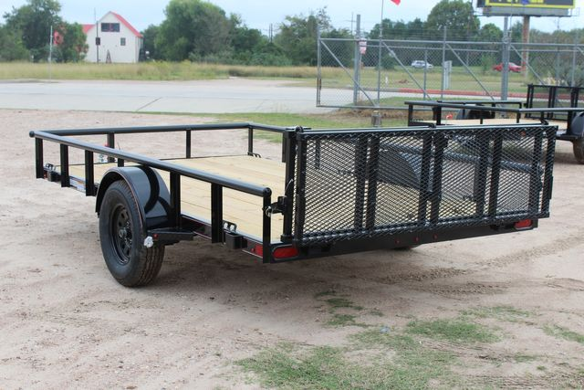 "2021 Psa - 12 12'X83"" - SINGLE AXLE  UTILITY UTILITY TRAILER WITH BIFOLD GATE CONROE, TX 9"